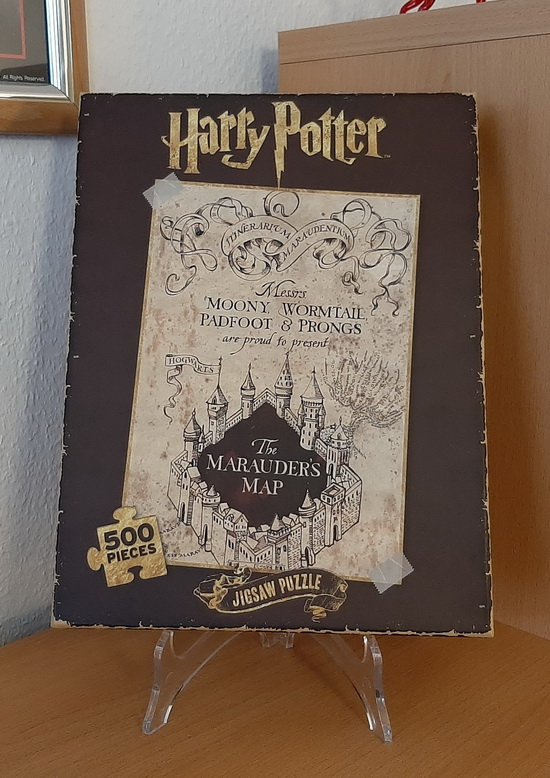 Jigsaw Puzzle of the Marauder's Map from Harry Potter