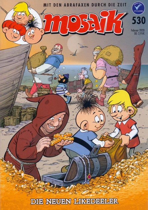 wie neu Vagabund in Liebesnöten Comic MOSAIK Die Abrafaxe Nr.419 November 2010